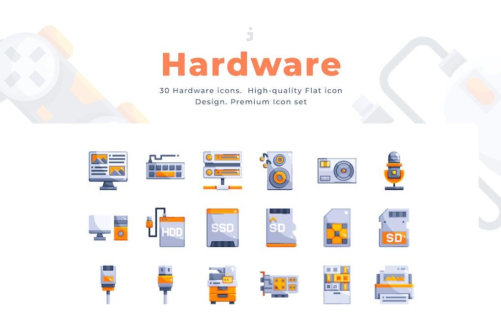 Скачать [Envato Elements] 30 Hardware Icons (2019), Отзывы Складчик » Архив Складчин