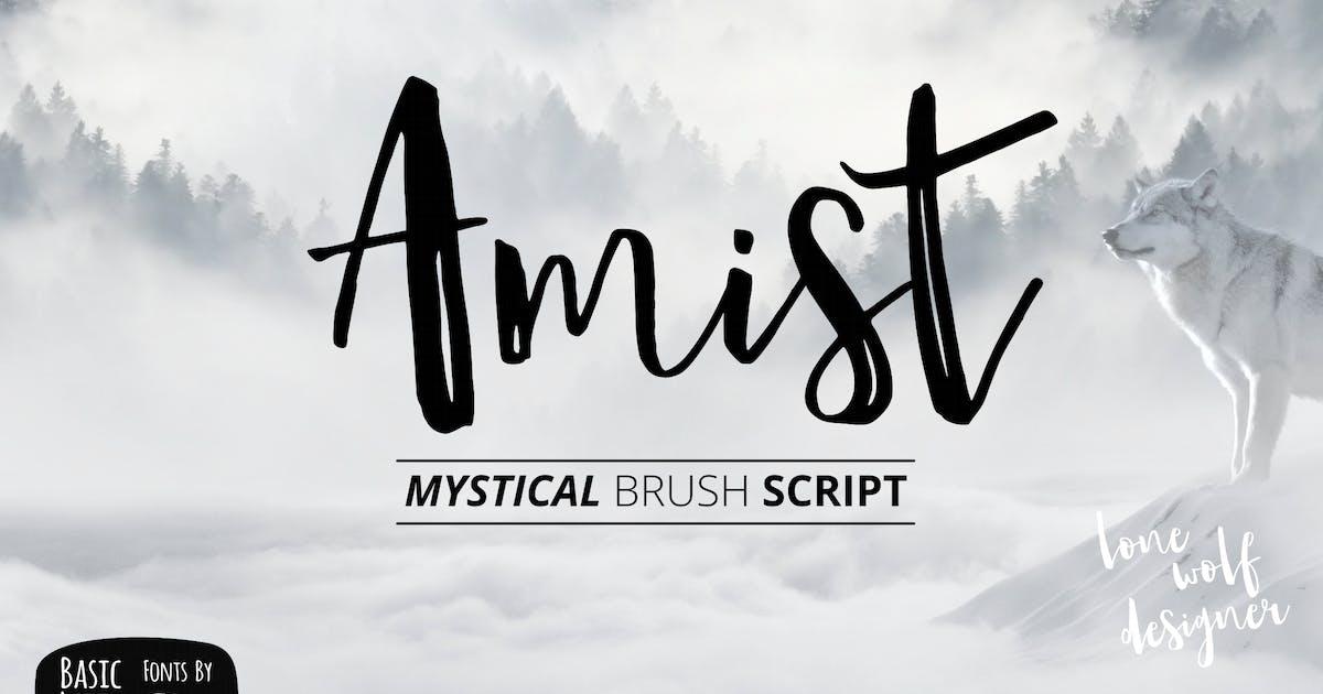Amist Mystical Script by yandidesigns