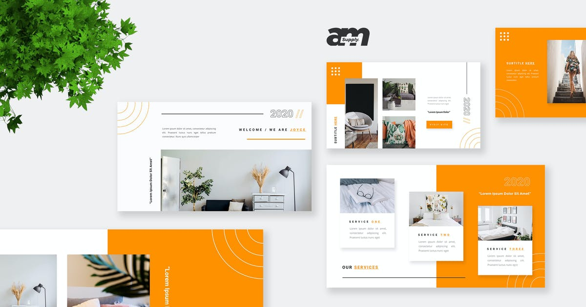Download Joyce -  Creative Powerpoint Template by amsupply