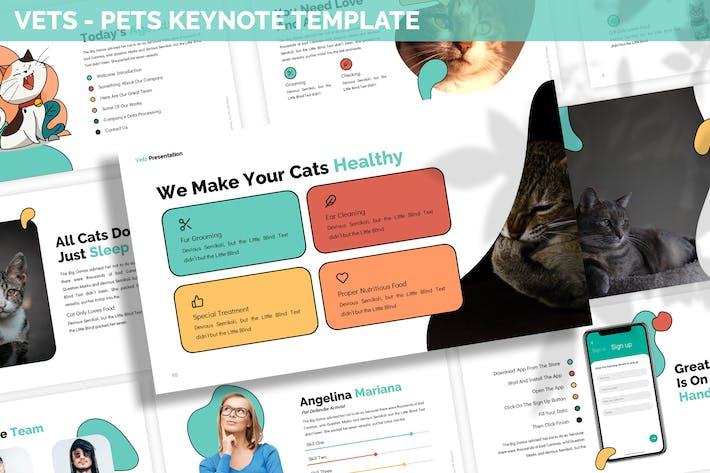 Thumbnail for Vets - Pets Keynote Template