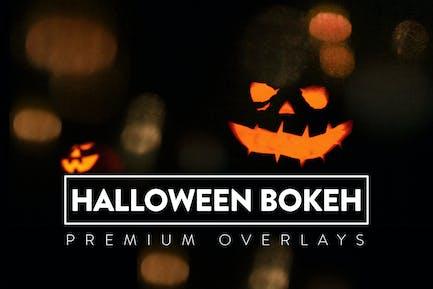 30 Halloween Bokeh Overlay