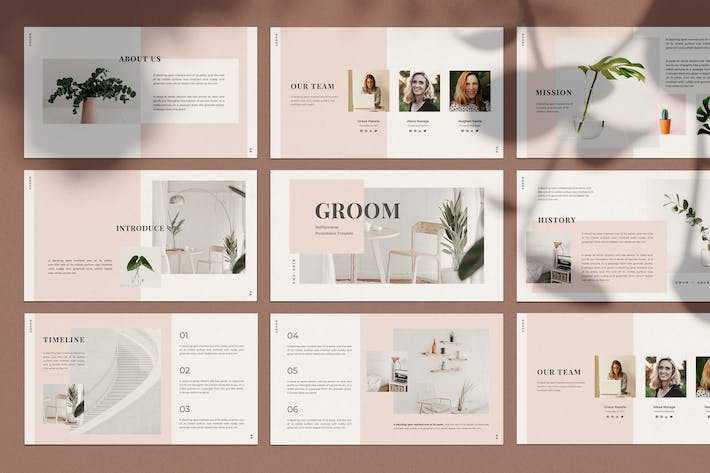 Thumbnail for GROOM - Powerpoint Template