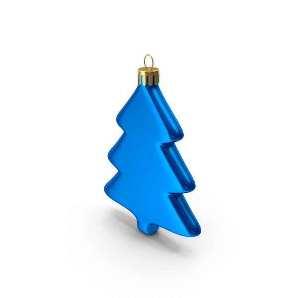 Tree Ornament Blue