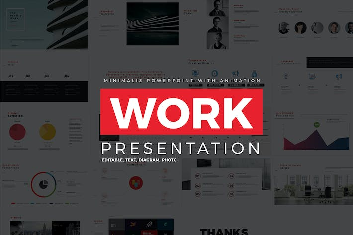 Work Profile Presentation by celciusdesigns on Envato Elements