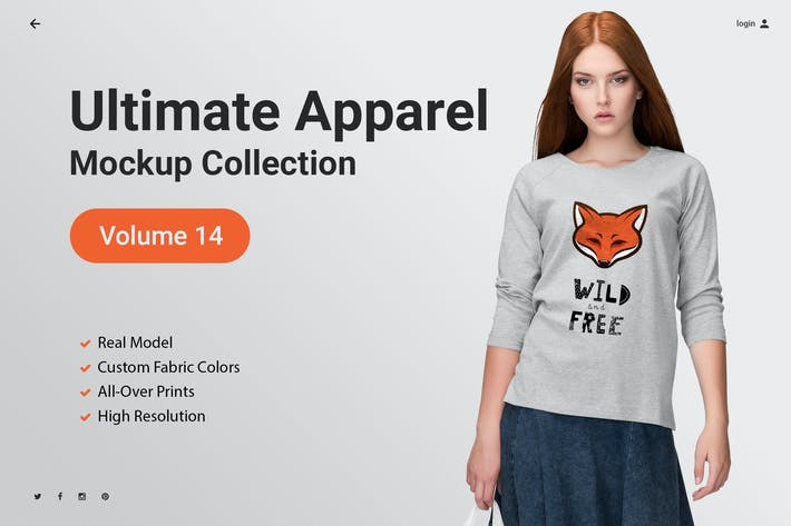 Thumbnail for Ultimate Apparel Mockup Vol. 15