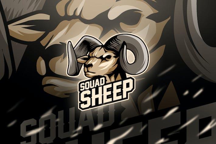 sheep - Mascot & Esport Logo