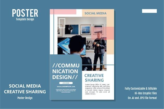 Creative Sharing Poster