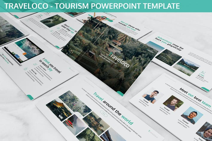 Thumbnail for Traveloco - Tourism Powerpoint Template