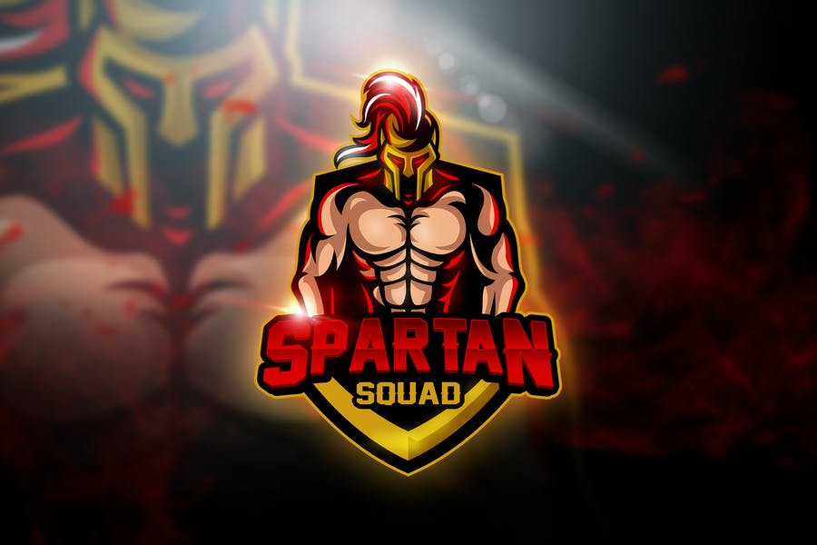 Spartan Team - Mascot & Esport Logo