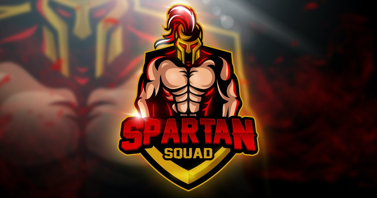Spartan Team - Mascot & Esport Logo by aqrstudio