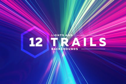 Light Trails Backgrounds