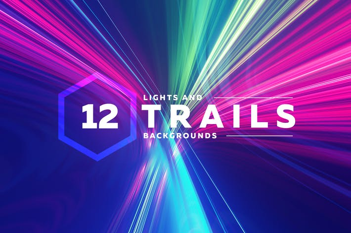 Thumbnail for Light Trails Backgrounds