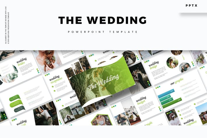 The Wedding - Powerpoint Template