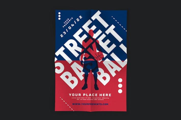 Thumbnail for Street Basket Ball Flyer