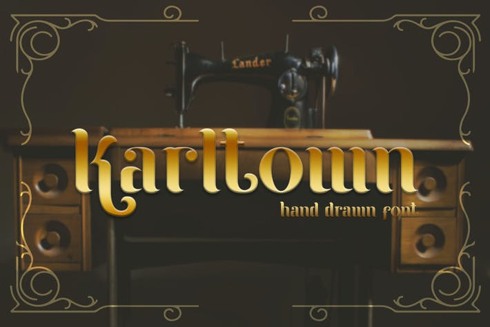 Thumbnail for Karltown - Handdrawn Font