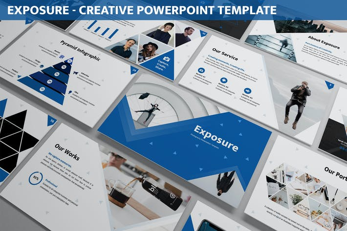 Thumbnail for Exposure - Creative Powerpoint Template