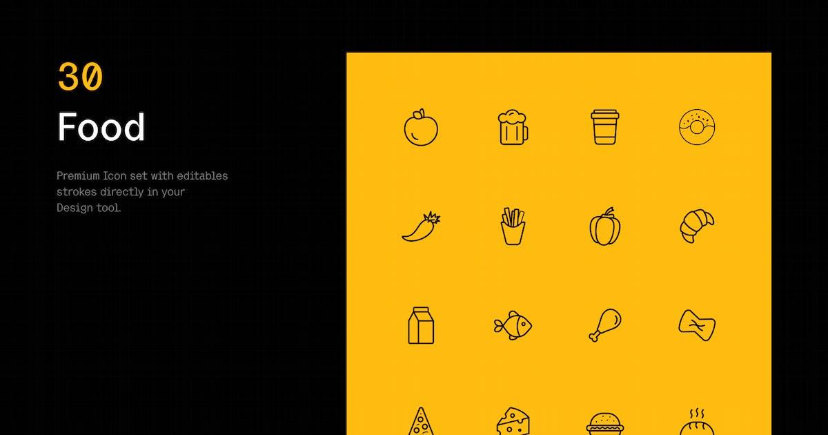 Download Food - Iconuioo by bilekpetr