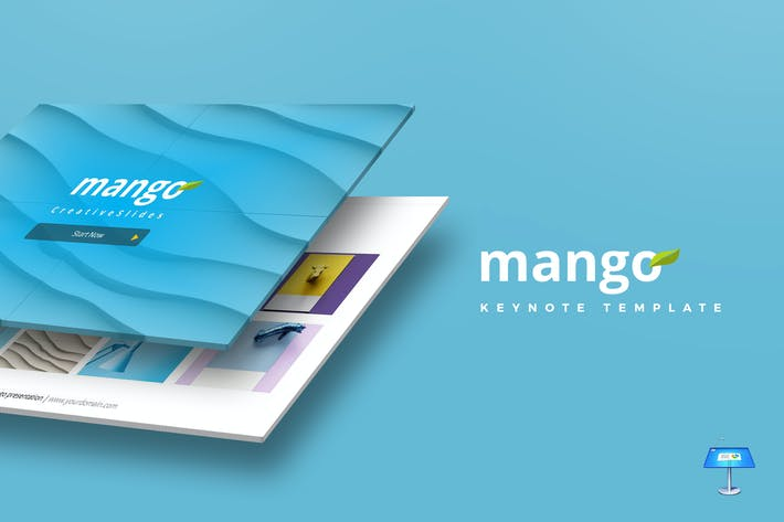 Cover Image For Mango - Keynote Template