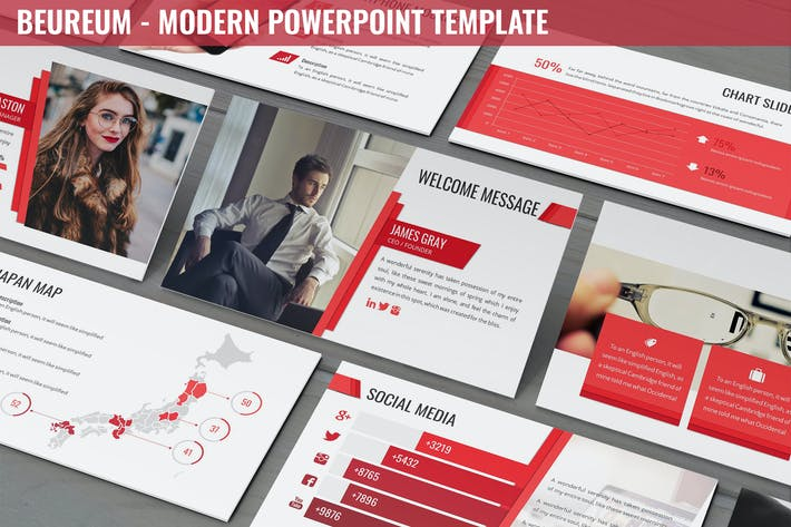 Beaureum - Modern Powerpoint Template