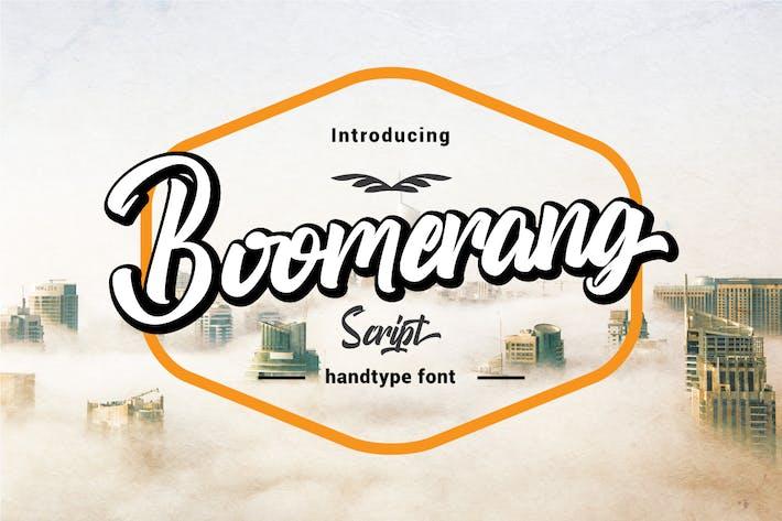 Thumbnail for Guión Boomerang