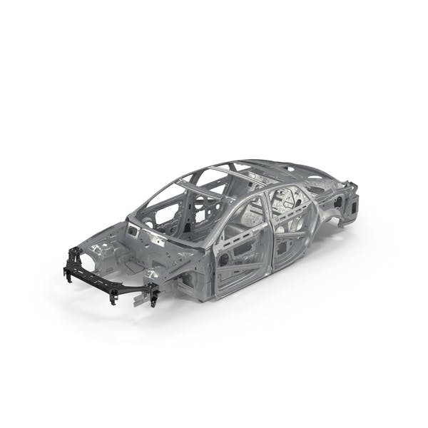 Cover Image for Car Frame with Chassis