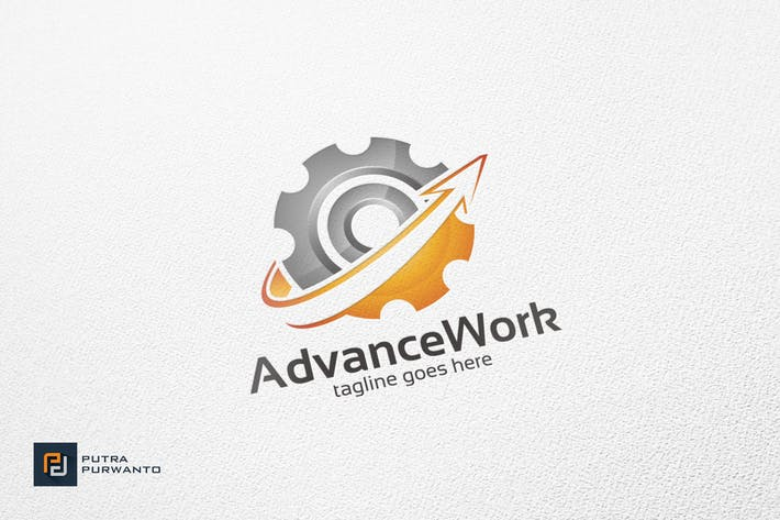 Thumbnail for Advance Work - Logo Template