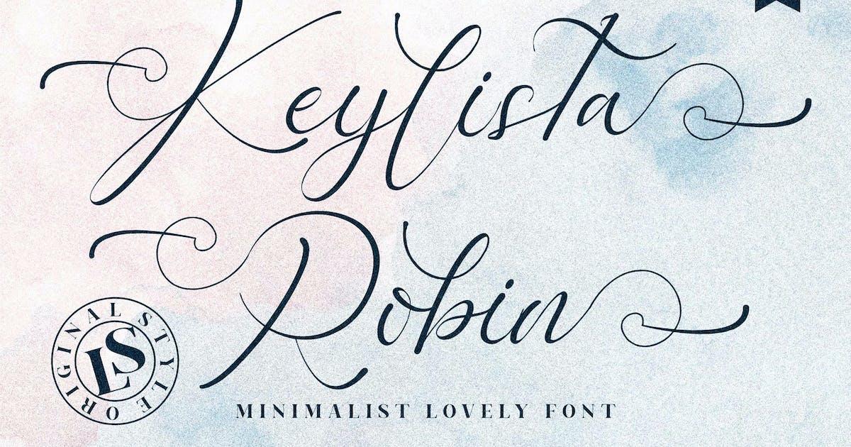 Download Keylista Script Font LS by GranzCreative