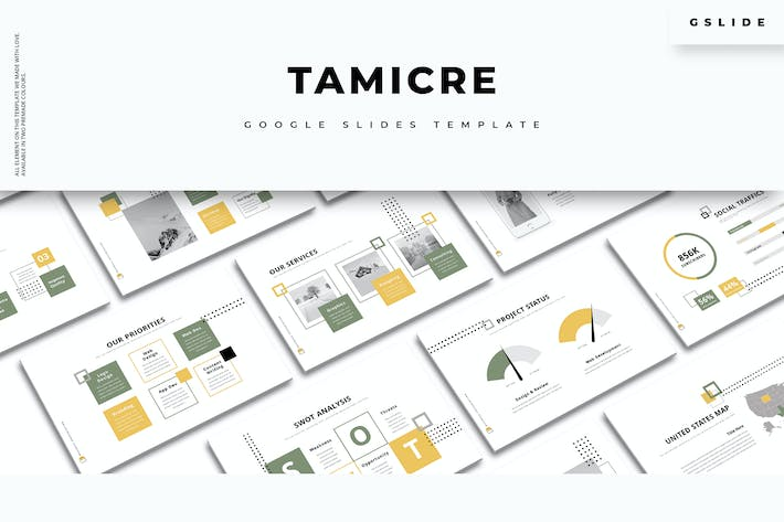Thumbnail for Tamicre - Creative Google Slides