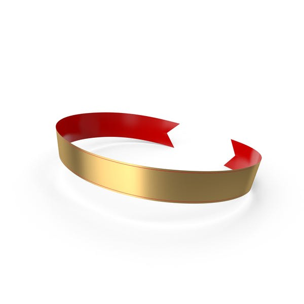 Banner Red Gold