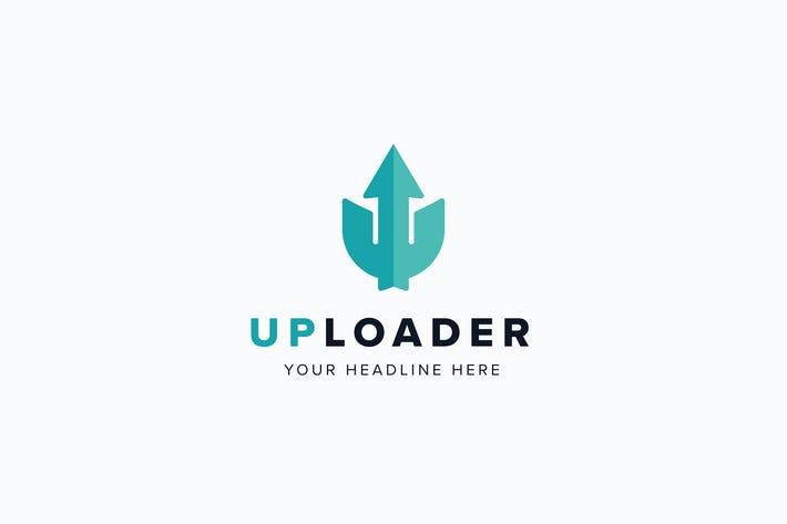 Thumbnail for UpLoader U Letter Logo Template