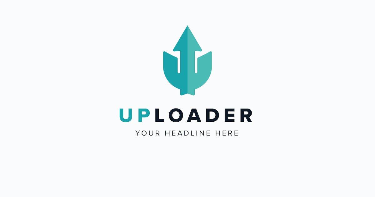 Download UpLoader U Letter Logo Template by MuseFrame