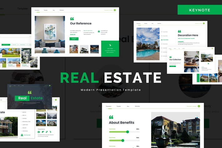 Thumbnail for Real Estate - Keynote Template
