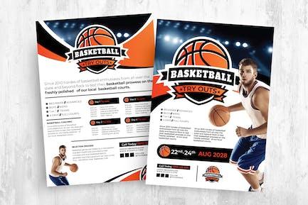 Basketball Templates Bundle for AI & PSD