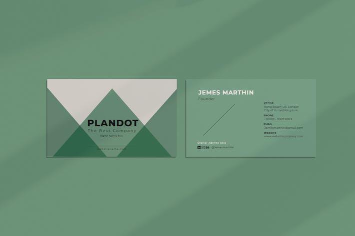 Thumbnail for Plandotco Business Card