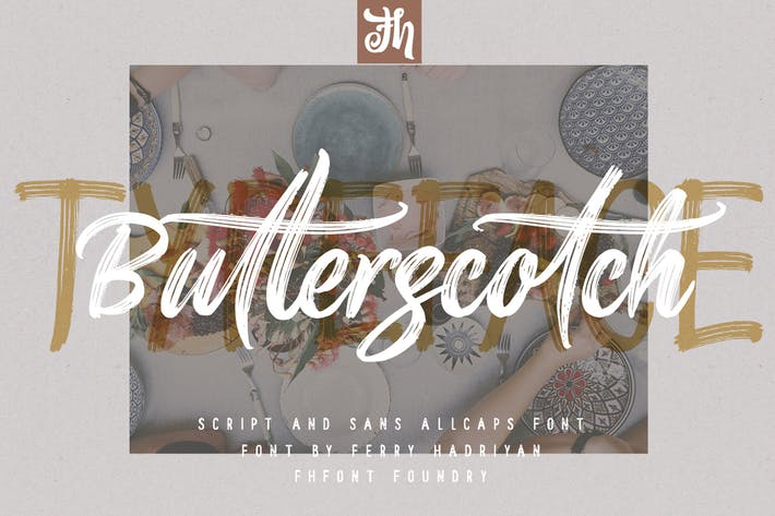 Thumbnail for Butterscotch - Handwritten Font