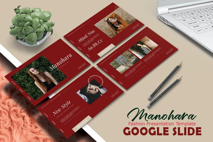 Thumbnail for МАНОХАРА - Шаблон слайдов Google
