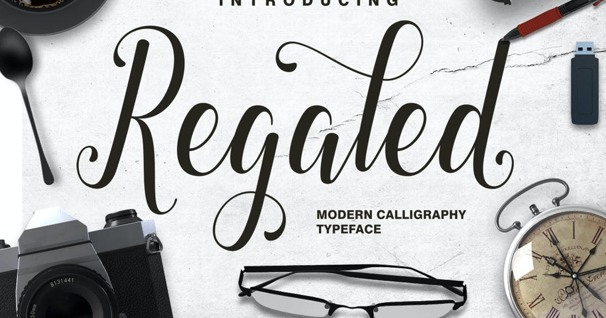 Download Regaled Script by graptailtype