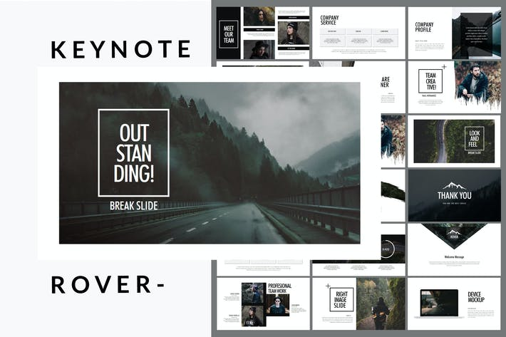 Thumbnail for Rover Adventure - Keynote Template