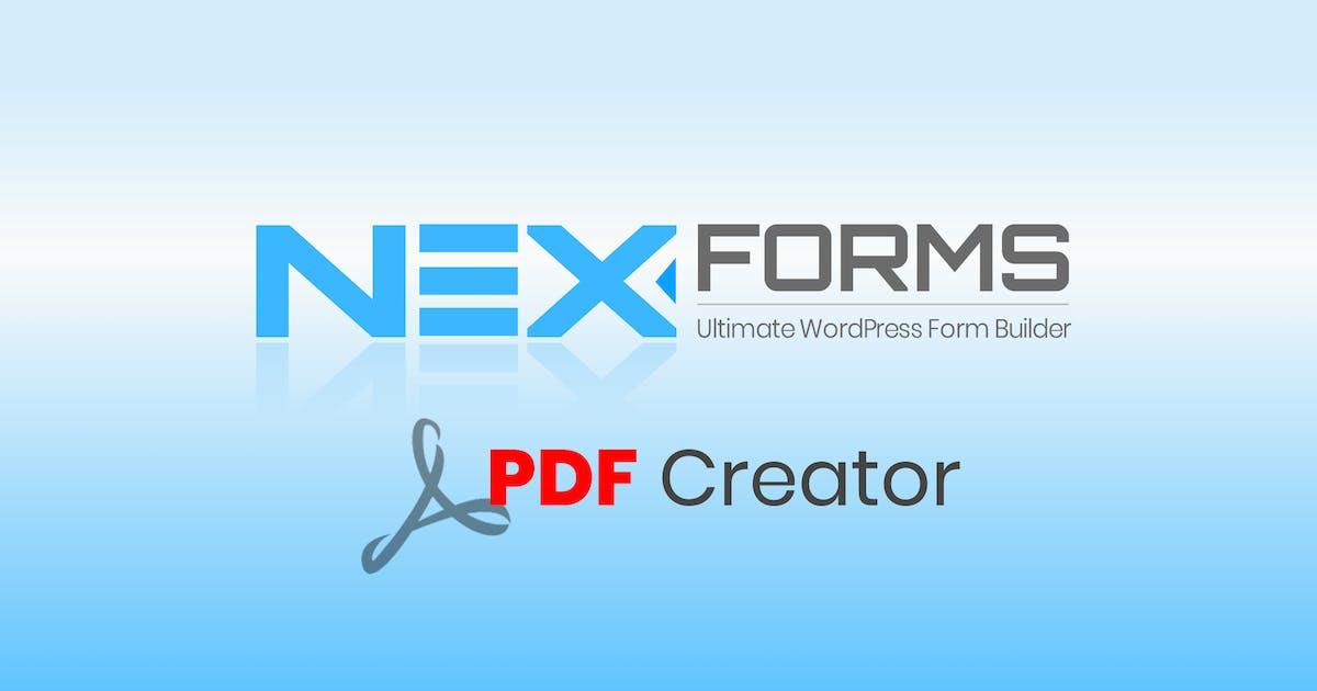 Download NEX-Forms - PDF Creator by Basix