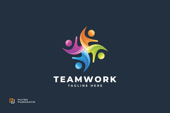 Thumbnail for Teamwork - Logo Template