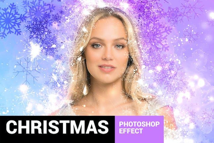 Cover Image For Celebratum - Christmas Photoshop Action