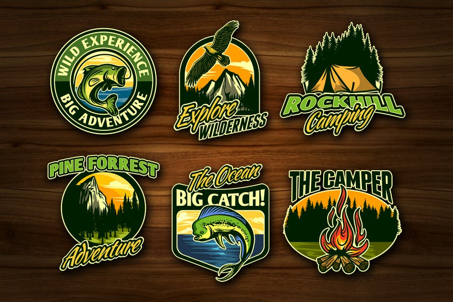 Adventure and Outdoor Activity Badges Vol. 1
