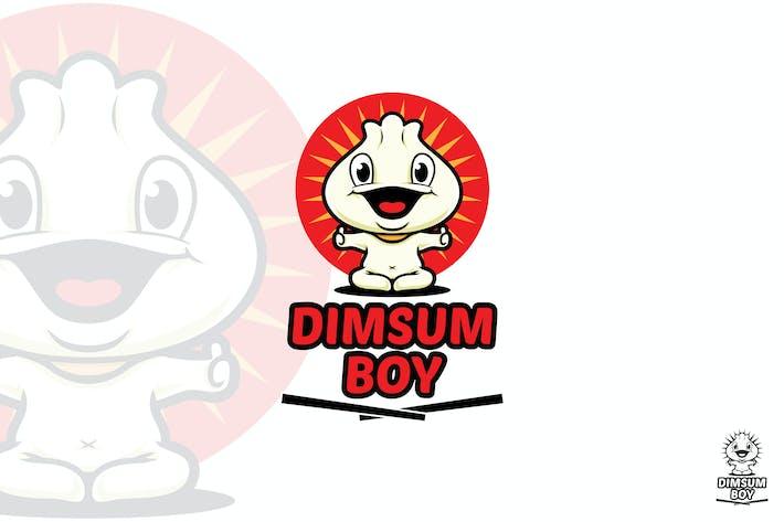 Thumbnail for Dimsum Boy Logo Mascot