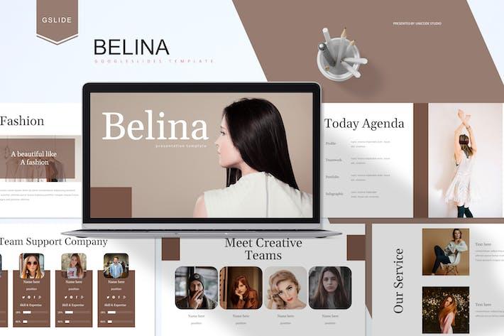 Thumbnail for Belina -  Google Slides Template