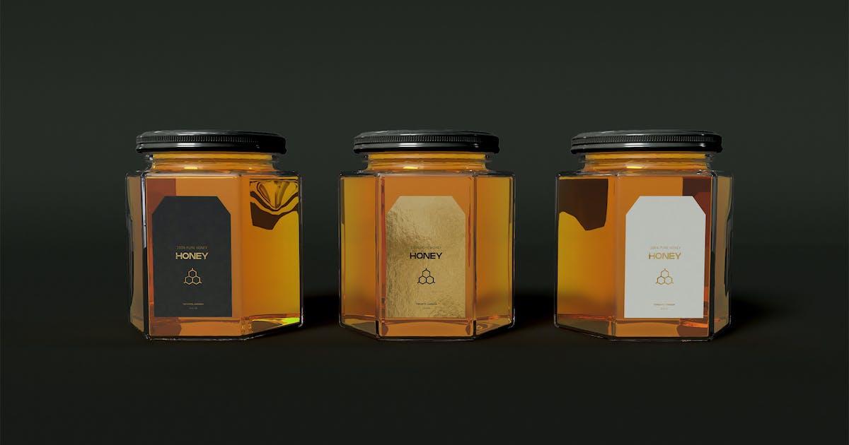 Download Honey Jar Mockup by megostudio