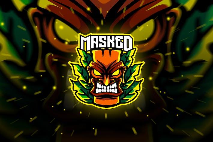 Thumbnail for masked - Mascot & Esport Logo