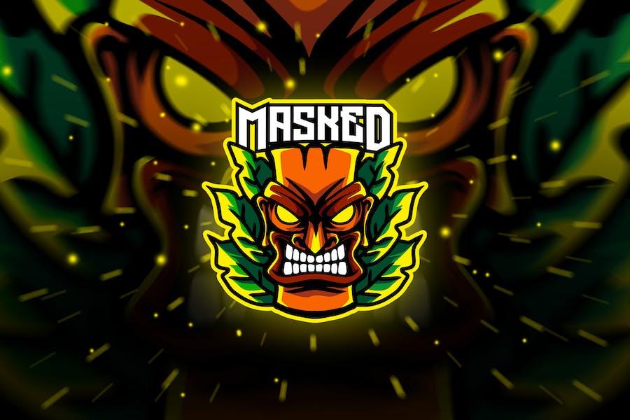 masked - Mascot & Esport Logo