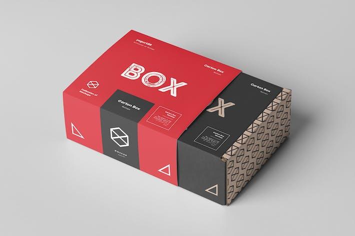 Thumbnail for Karton Mockup 95x85x42 & Verpackung