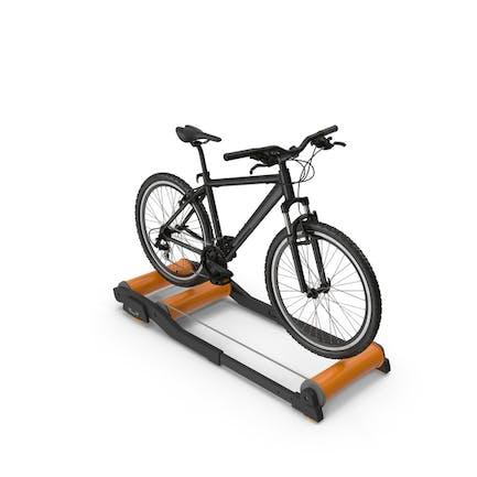 Mountain Bike Riding Roller Platform
