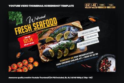 Sea Food YouTube Video Thumbnail Screenshot